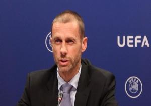 UEFA Başkanı Ceferin'den Türk kulüplerine uyarı