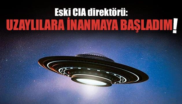 Eski CIA direktörü: Artık UFO'ya inanıyorum!