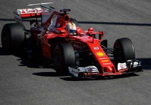 Pole pozisyonu Vettel'in